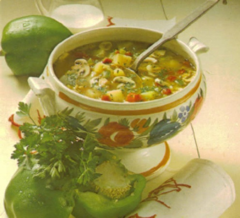 Pork and Vegetable Soup