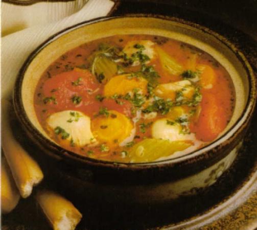 Chicken-Vegetable Pistou