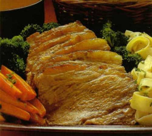 Oven Pot Roast with Red Wine