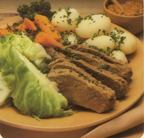 Beef Brisket with Boiled Vegetables