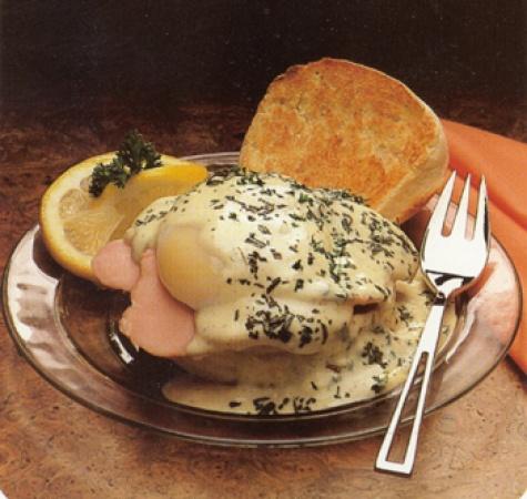 Herbed Eggs Benedict