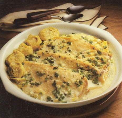 Cheesy Baked Halibut