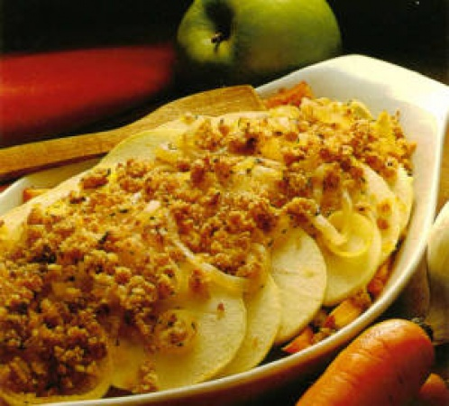 Carrot Apple Casserole