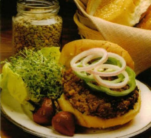 Tasty Lentilburgers
