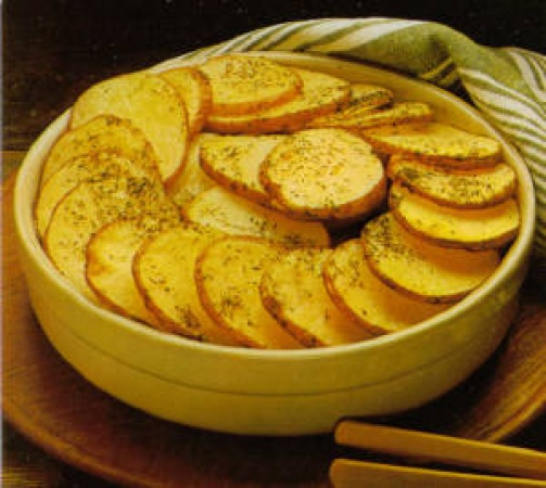 Baked Sliced Potatoes