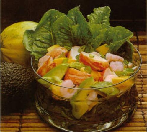 Caribbean Seafood Salad