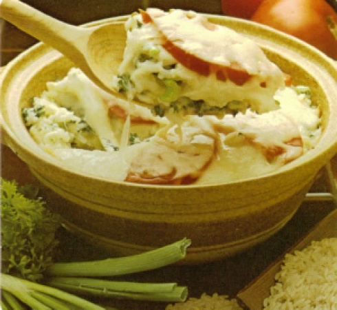Rice Parmigiana